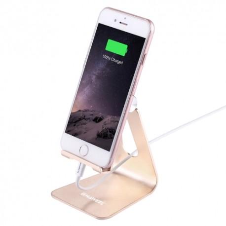 HAWELL hliníkový stojan pro iPhone / iPod - zlatý