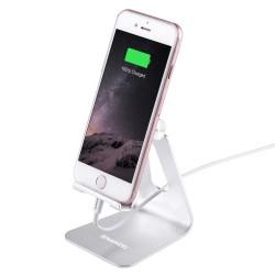 HAWELL hliníkový stojan pro iPhone / iPod - stříbrný