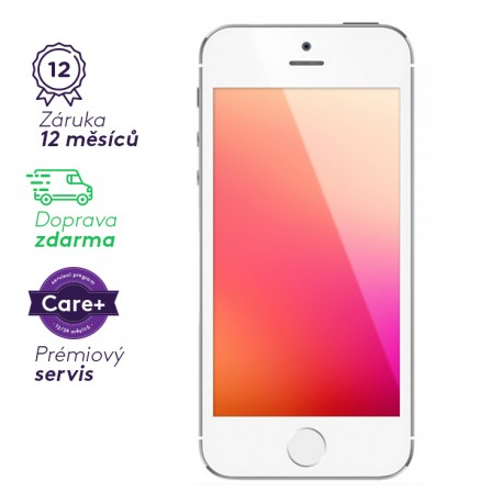 Apple iPhone 5 - bílý