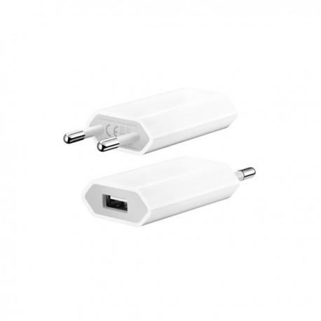 Tenký USB napájecí adaptér - bílý