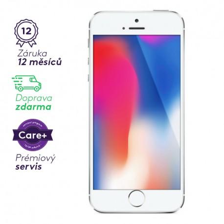 Apple iPhone 5S - stříbrný