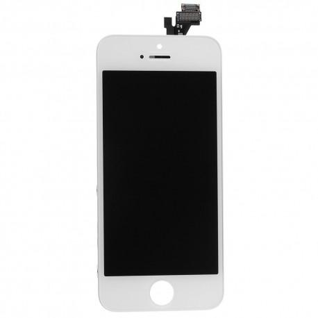 Kompletní  LCD panel pro iPhone 5 (bílý) + servisní set zdarma
